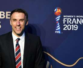 England boss Neville excited by Japan test at women's World Cup.