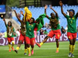 Cameroon are into the last 16 of the Women's World Cup. AFP
