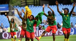 Nchout clasifica a Camerún en el último minuto. AFP