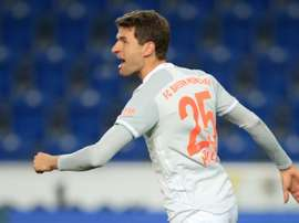 Thomas Mueller's Bayern form fuels calls for Germany recall. AFP