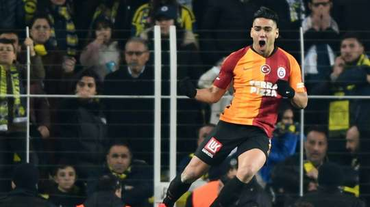 Falcao wants to keep on competing in Turkey. AFP