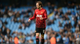 Blind bid farewell to United. AFP