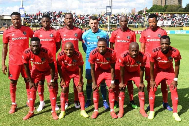 Orlando Pirates suffered a shock defeat to Stellenbosch. AFP