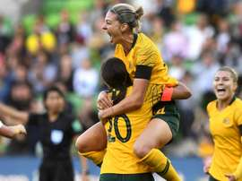 Female footballers in Australia will get the same base pay as men. AFP