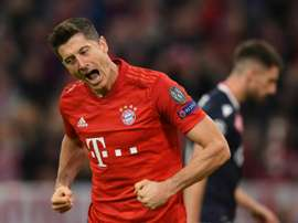 Lewandowski strikes again as Bayern see off Red Star. AFP