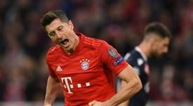 Lewandowski strikes again as Bayern see off Red Star. AFP