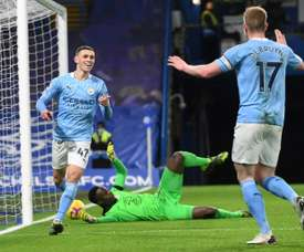 Covid-hit Man City still too good for Chelsea. AFP