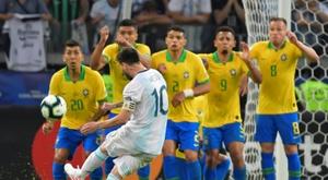 Les prochaines rencontres de la sélection argentine. AFP