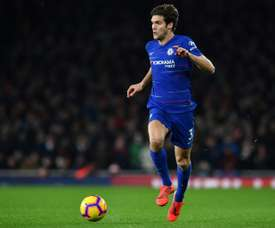 Diego Simeone opte pour Marcos Alonso. AFP