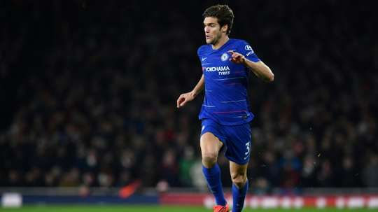 Chelsea fixe un prix pour Marcos Alonso. AFP