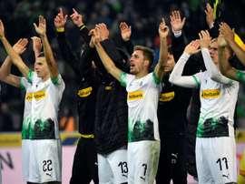 M'gladbach regain Bundesliga lead after 'deserved' Eintracht win. AFP