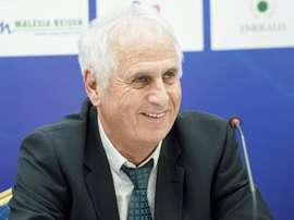 Bernard Challandes hopes his team can qualify for Euro 2020. AFP