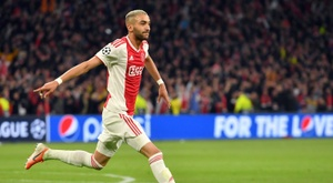 Hakim Ziyech has agreed personal terms ahead of his Chelsea move. AFP