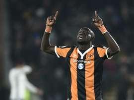 Niasse ha marcado un doblete ante los 'swans'. AFP