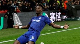 Kepa deja la pájara del Chelsea en anécdota. AFP