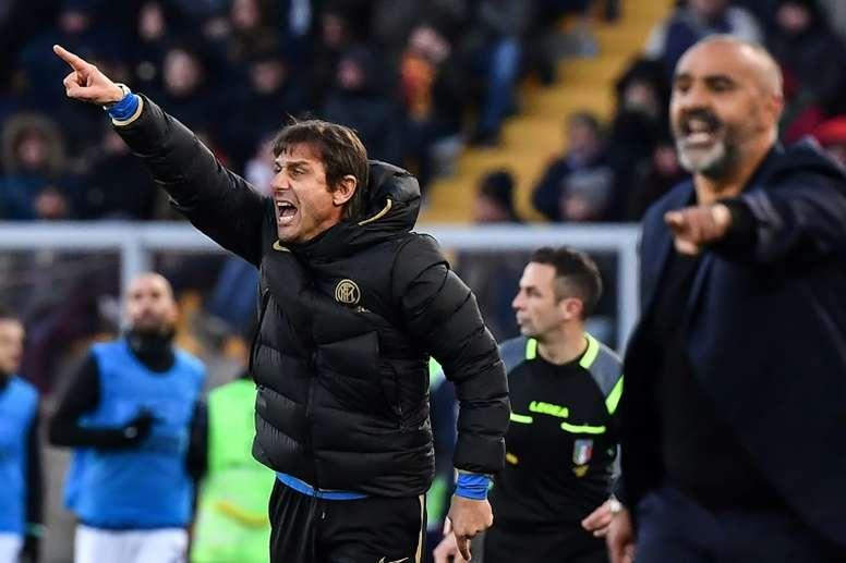 Inter's title bid stalls in Lecce as Rebic lifts AC Milan. AFP