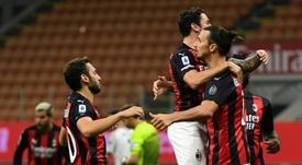 El Milan es uno de los cuatro invictos en Liga desde que volvió el fútbol.