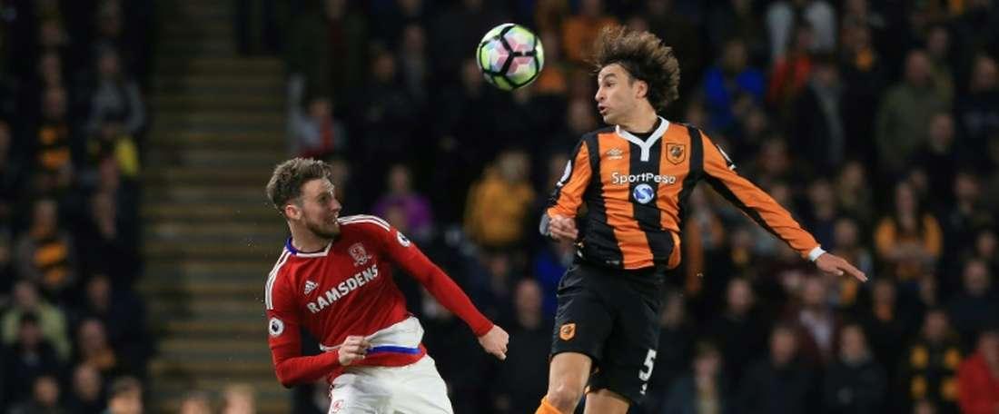 Middlesbrough goleado pelo Bournemouth na Premier League. AFP