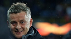 Solskjaer admits it will be strange playing behind closed doors. AFP