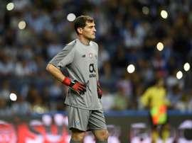 Casillas llegó al Oporto en la temporada 2015-16. AFP