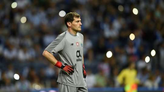 Iker Casillas, guarda-redes do FC Porto. EFE