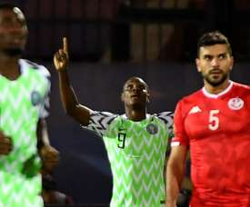 Odion Ighalo retires from Nigeria's national team. AFP