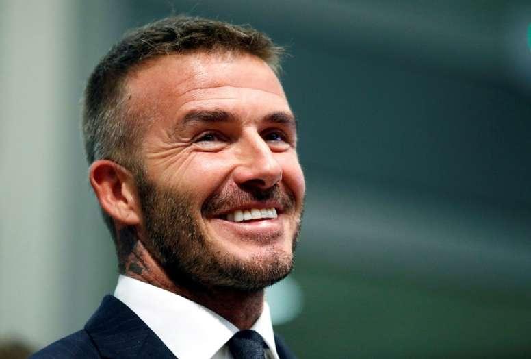 Beckham pescará en España para el Inter Miami. AFP