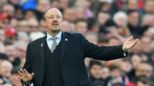Benitez to take charge of Chinese side Dalian Yifang. AFP
