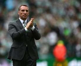 Rodgers podría cambiar Glasgow por Birmingham. AFP