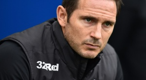 Lampard's Derby County could receive a points reduction. AFP
