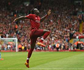 Mane was the pick of the bunch. AFP