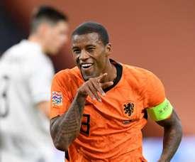 The Netherlands won 3-1. AFP