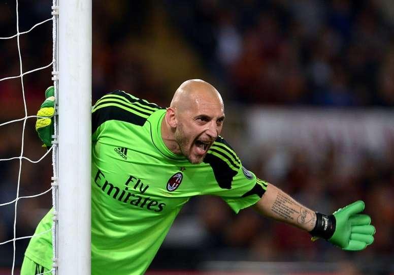 Un clásico del fútbol italiano dice adiós. AFP