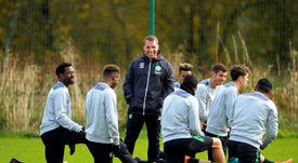 Celtic are hungry for more success under Brendan Rodgers. AFP
