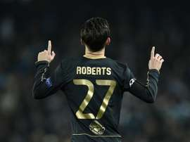 Roberts linked with a move to Huddersfield. AFP