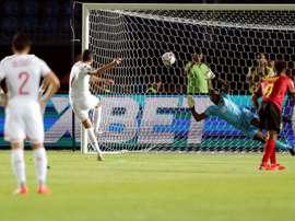 Tunisia drew with Angola 1-1. AFP