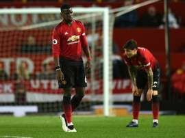 Manchester United pode aproximar Pogba do Real. AFP