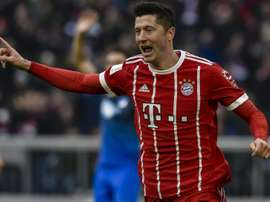 Two goals in four minutes sparked Bayern's come-back victory. AFP