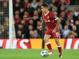 Liverpool e Burnley empataram a uma bola pela Premier League. AFP