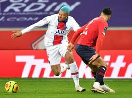 Kylian Mbappe couldnt stop PSG drawing 0-0 with Lille in a forgettable match. AFP