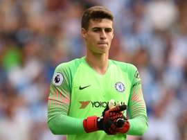 Kepa joined Chelsea on a world-record fee. AFP