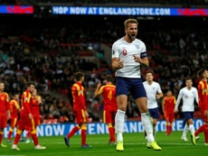 England smash seven past Montenegro to reach Euro 2020 in style. AFP