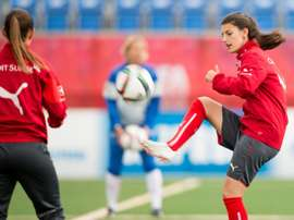 Swiss player Florijana Ismaili is reported missing. AFP
