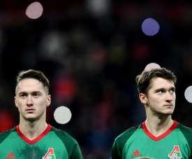 Les jumeaux Miranchuk ciblés par trois cadors européens. AFP