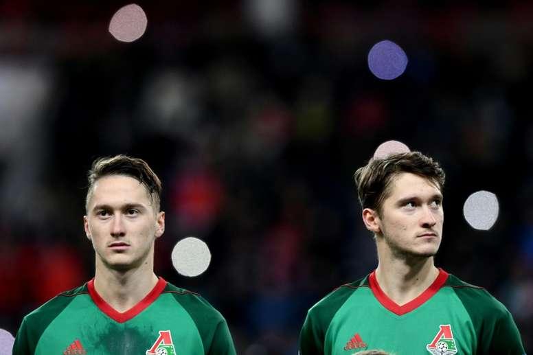 Aleksey Miranchuk podría tener futuro en LaLiga o la Serie A. AFP