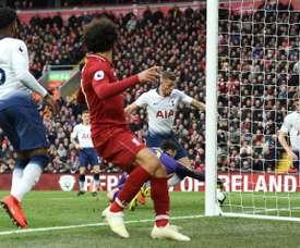 Vida extra para o Liverpool na corrida pela Premier. AFP