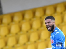 Napoli forward Lorenzo Insigne scored the equaliser after his brother Robertos goal. AFP