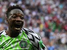 Musa ha puesto rumbo a Arabia Saudí. AFP