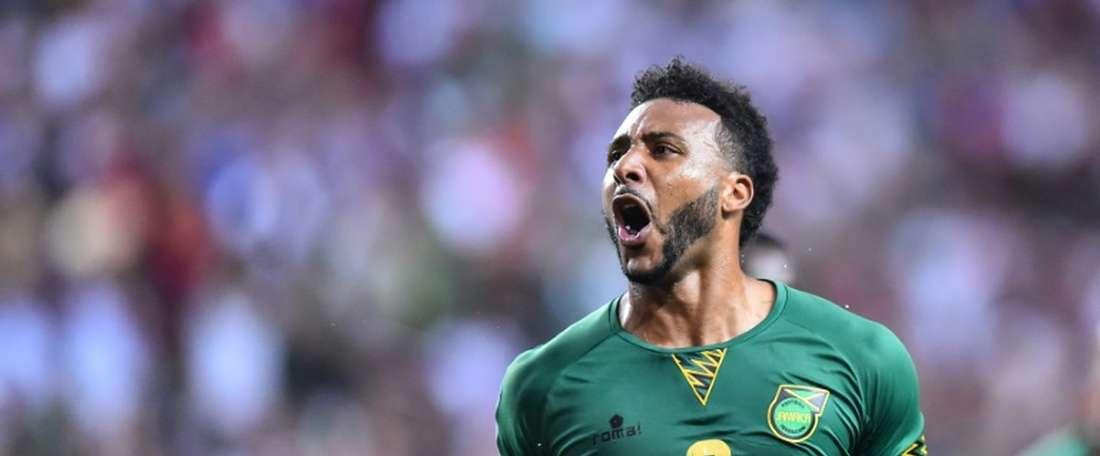 Los jamaicanos dieron la sorpresa ante la vigente campeona. AFP