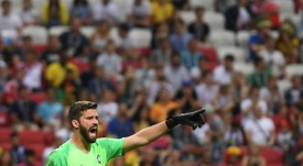 Monchi rejected claims that Alisson's departure demonstrated a lack of ambition. AFP